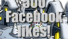 Facebook - Thank you for 500 likes!