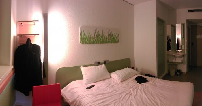Hotelzimmer ibis budget - Hamburg City