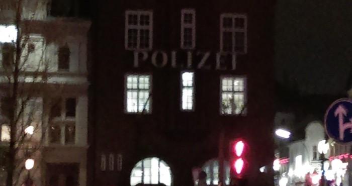Hamburg Davidwache - Reeperbahn
