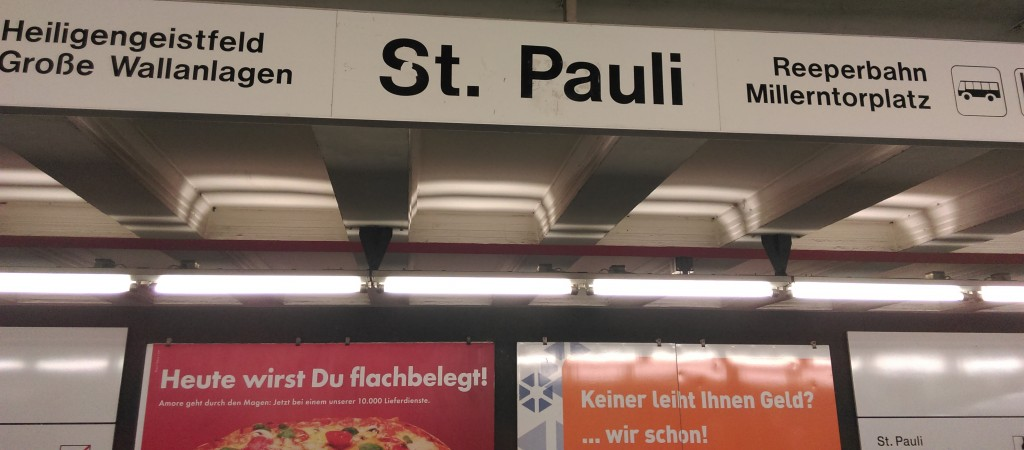 Hamburg St. Pauli - Reperbahn