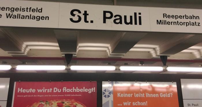Hamburg St. Pauli - Reeperbahn